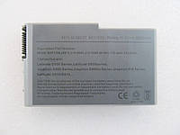 Dell Latitude D600 C1295, 5200mAh, 6cell, 11.1V,  Li-ion, серая