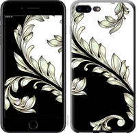 "Чехол на iPhone 8 Plus White and black 1 ""2805c-1032-25032"""