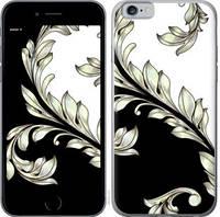"""Чехол на iPhone 6s White and black 1 """"2805c-90-25032"""""""