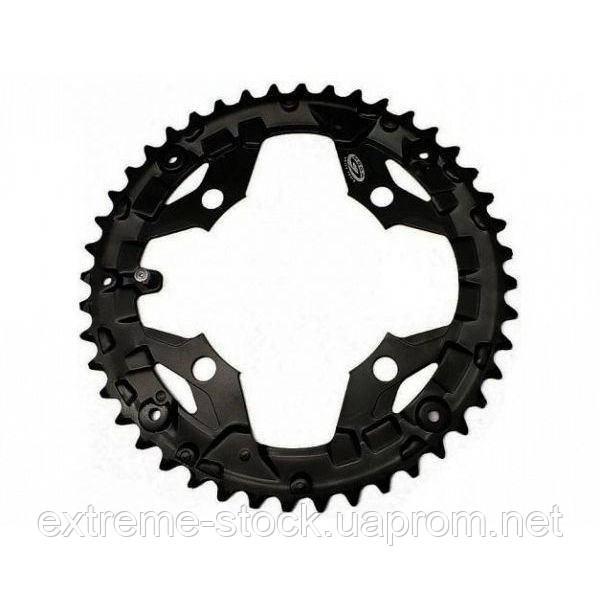 Звезда шатунов Shimano Alivio FC-M430, 44 зуба, BCD 104 мм, чёрная