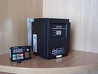 Частотник HITACHI NES1-022SBE, 2.2кВт, 10A, 220В. Вольт-частотный (скалярный).