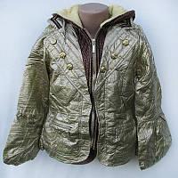 Куртка подростковая с капюшоном