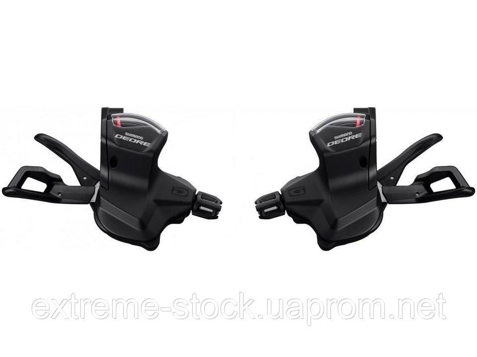 Манетки Shimano Deore SL-M6000, 2/3x10, RapidFire Plus, без упаковки