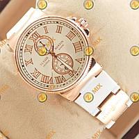 Часы Ulysse Nardin Lelocle Suisse Gold/White