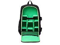 Водонепроницаемый рюкзак для зеркального фотоаппарата Tigernu Зеленый