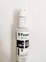 Светодиодная led лампа 9w T8 стекло 4000К G13 Feron LB-246 (замена люминесцентной лампы 18Вт)