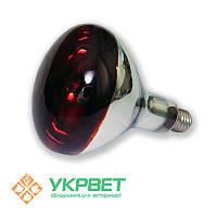 Инфракрасная лампа для обогрева свиней красная, 100 Вт, Е27, фото 1