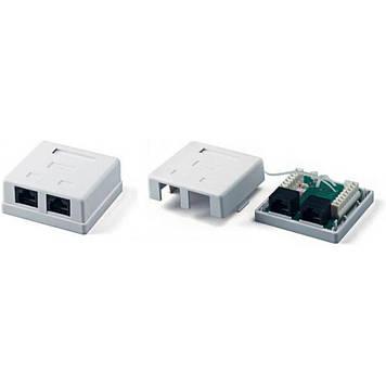 Компьютерная розетка Hypernet RJ45 x2 UTP 5e (MB-UTP2)