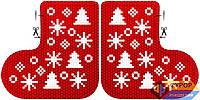 Схема для вышивки бисером - Игрушка новогодняя, Арт. ИНБ-001