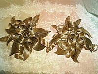 Заколка из волос ЦВЕТОК на кракодиле  (ПОСТИЖ)