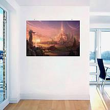 "Постер ""Новый мир"". World of Warcraft, Варкрафт. Размер 60x40см (A2). Глянцевая бумага, фото 3"
