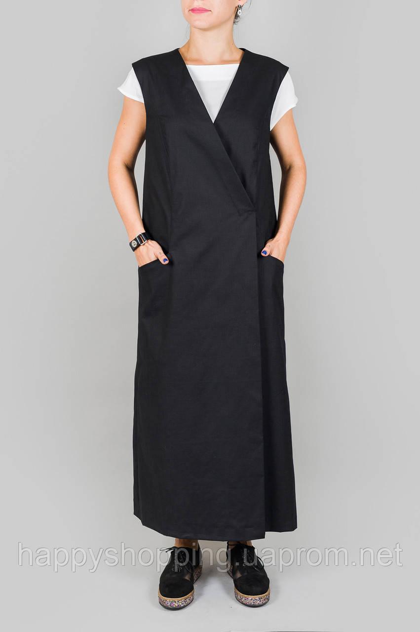 Черное платье HooS