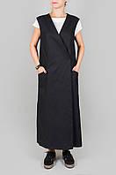 Черное платье HooS, фото 1