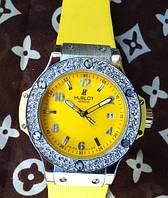 Часы Hublot Big Bang King stones, женские наручные часы в Украине