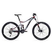 """Горный велосипед двухподвес Giant Trance 3, колеса 27.5"""" серебристый L (GT)"""