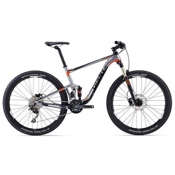 """Горный велосипед двухподвес Giant Anthem 3, колеса 27.5"""" серебристый M (GT)"""