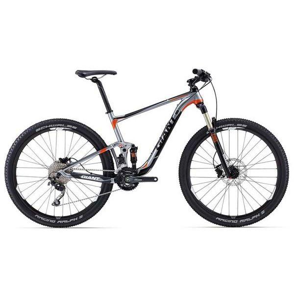 """Горный велосипед двухподвес Giant Anthem 3, колеса 27.5"""" серебристый L (GT)"""