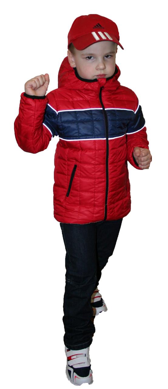 """Демисезонная куртка  на мальчика """"Zara"""" красная"""