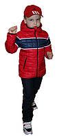 """Демисезонная куртка  на мальчика """"Zara"""" красная, фото 1"""