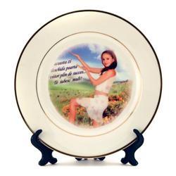Печать фото на тарелке в Донецке