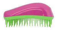 Щетка для волос Dessata Maxi фуксия-лайм