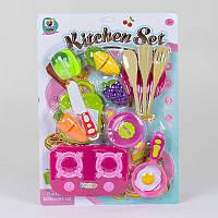 Набор посуды с продуктами на липучках R185123