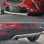 Mazda CX-3 2015↗ гг. Передняя и задняя накладки
