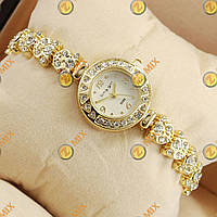 Часы King girl diamond Gold/White
