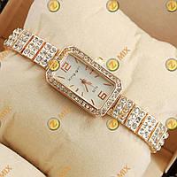 Часы King girl diamond Pink gold/White