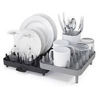 Органайзер сушилка для посуды на 3 отделения Connect Adjustable 3-piece dishrack 151145