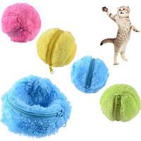 Мячик для животных мягкий интерактивный 151141
