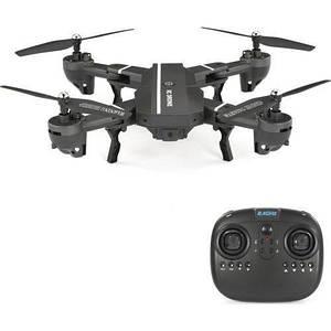 Квадрокоптер с видеокамерой складной HD WiFi RC 8807 черный 152576