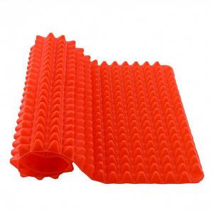 Коврик силиконовый для выпечки и запекания пирамидка 30х40х1.5 см Pyramid Pan красный 152597