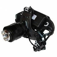 Фонарь налобный светодиодный аккумуляторный Bailong Police BL-2177-T6 152609