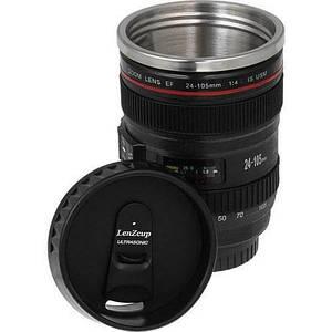 Термокружка с крышкой 300 мл чашка в стиле объектива Canon EF 24 105 Caniam 152581