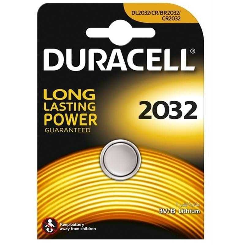 Батарейка DURACELL 2032 3V Lithium batteries Бельгия