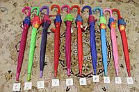 Детскиq зонт трость для девочек Star Rain полуавтомат, 8 спиц