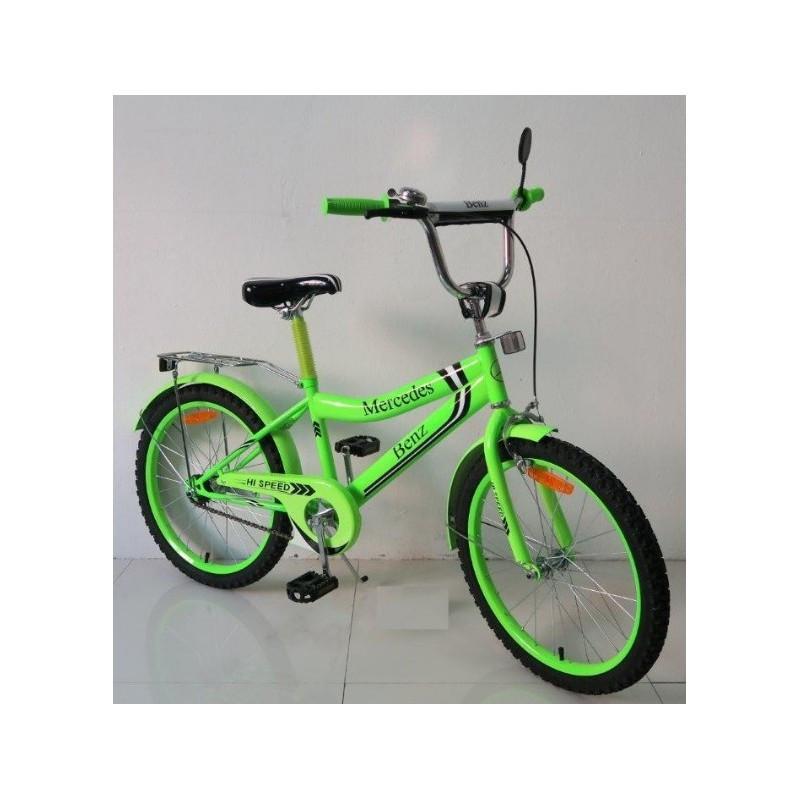 Велосипед 2-х колес 18'' 171839 со звонком,зеркалом,ручной тормоз