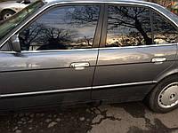 BMW 5 серия E-34 1988-1995 гг. Накладки на ручки (4 шт) Полированная нержавейка