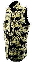 Жилетка из искусственного меха (батал)