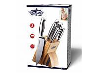 Набор Кухонных ножей 7 предметов Peterhof Качественные из Нержавеющей стали