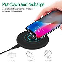 Беспроводное зарядное устройство N5 Fast Charge Black