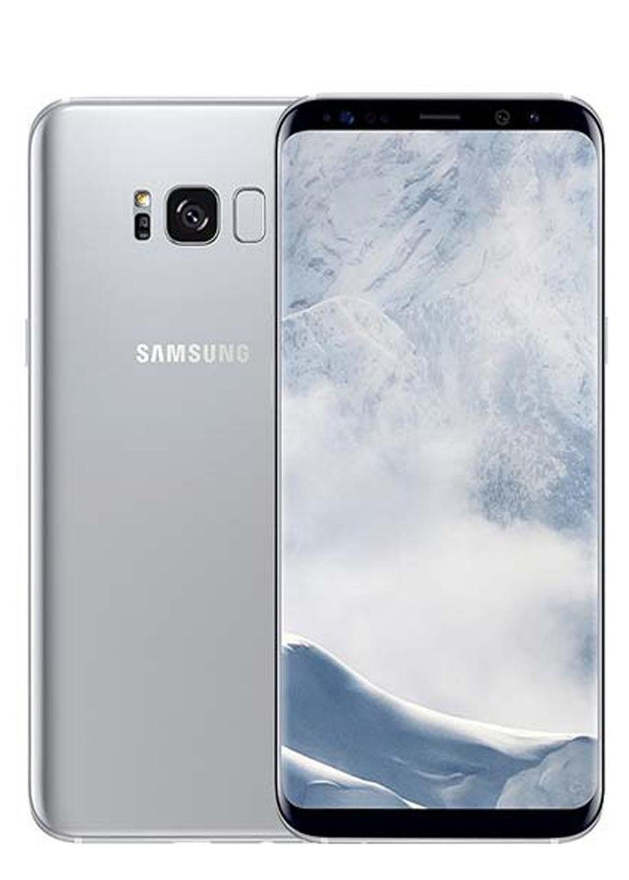 Смартфон Samsung Galaxy S8+ 64GB Silver Модель SM-G955U