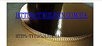 Подложка  усиленная круг золото 36см  h -2 см