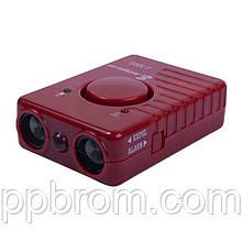 """Мощный ультразвуковой отпугиватель собак с аккумулятором и сиреной """"J-1003"""" (действие до 20 м)"""