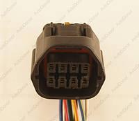 Разъем электрический 8-и контактный (27-25) б/у