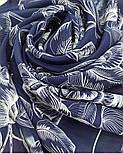 10071-14, павлопосадский шейный платок (крепдешин) шелковый с подрубкой, фото 4