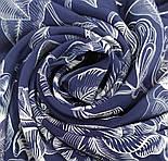 10071-14, павлопосадский шейный платок (крепдешин) шелковый с подрубкой, фото 5