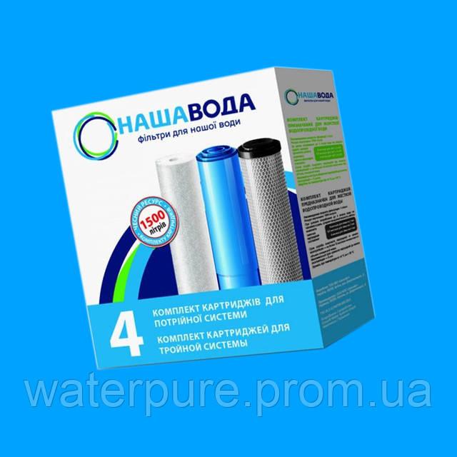 Система очистки со съемными картриджам для воды