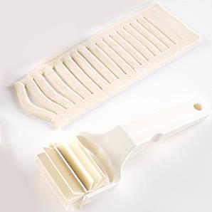Валик для тестаKitchen Line Hendi,пластиковый с пластиковой ручкой, 8х21 см., белый (515068)